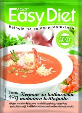 Easy Diet Katkarapukeitto, 49g - Keitot - 6430051510670 - 1