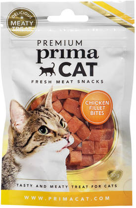 PrimaCat Fresh Meat Snacks Kanafilee, 30g - Makupalat - 6430043026790 - 1