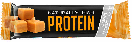 Fast Naturally High Protein, Toffee, 50g - Proteiinipatukat - 6420610745940 - 1
