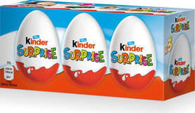 Kinder Surprise 3x20g - Suklaamunat - 8000500026731 - 1