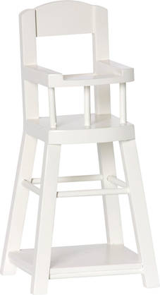 Maileg High Chair for Micro, Offwhite - Maileg - 5707304056881 - 1