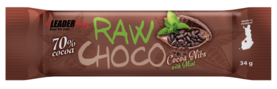 Raw Choco Cocoa Nimbs With Mint, 34g - Patukat - 6430051515521 - 1