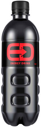 ED Energy Drink, 0,5L - Energiajuomat - 6413600014812 - 1
