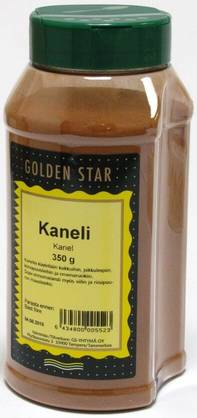 Golden Star kaneli, 350g - Leivontamausteet - 6434800005523 - 1