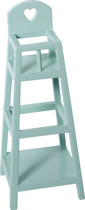 Maileg High Chair for MY, Light Blue - Maileg - 5707304058403 - 1