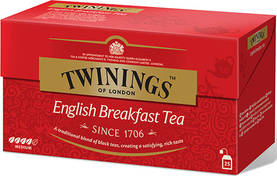 Twinings English Breakfast, 25pss - Musta Tee - 070177077693 - 1