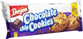 Bergen Chocolate Chip Cookies, 100g - Keksit - 5902379741834 - 1