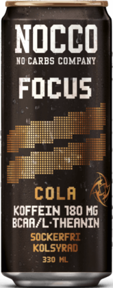 Nocco Focus Cola, 330ml - Energiajuomat - 7340131608014 - 1