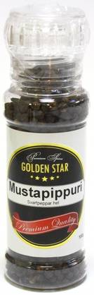 Golden Star Maustemylly Mustapippuri, 100g - Pippurit - 6434800008685 - 1
