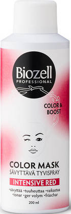 Biozell Professional Color Mask Intensive Red, 200ml - Sävytteet - 6411463075025 - 1