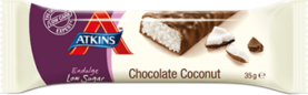 Atkins Endulge Chocolate Coconut, 35g - Patukat - 5060074627546 - 1