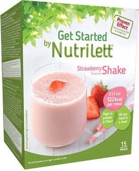 Nutrilett Quick Weight Loss Mansikka Pirtelö - Pirtelöt & Smoothiet - 7038319021716