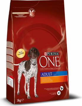Purina ONE Adult Kana-Riisi, 3kg - Purina ONE - 7613033274046 - 1
