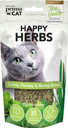 Deluxe PrimaCat Happy Herbs Yrttiseos, 10g - Makupalat - 6430049628257 - 1