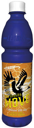 Leader Move +BCAA Lemon-Lime, 0,5L - Energiajuomat - 6430051516627 - 1