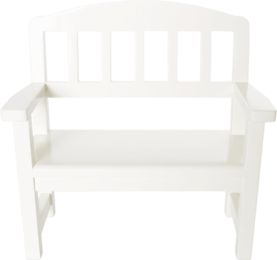 Maileg Wooden Bench, Off White - Maileg - 5707304072157 - 1