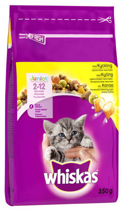 Whiskas Junior Kanaa, 350g - Whiskas - 5900951139727 - 1