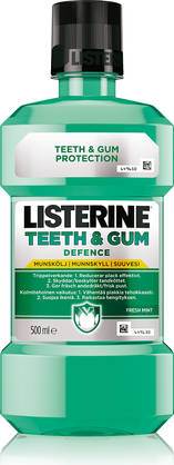 Listerine Teeth & Gum Defence, 500ml - Suuvesi - 5010123721947 - 1