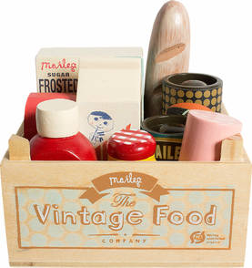 Maileg Vintage Food Grocery Box - Maileg - 5707304056928 - 1