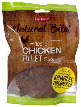 Best Friend Natural Bites Kanafilee, 100g - Kuivatut Herkut - 5700551127618 - 1