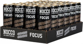 Nocco Focus Cola, 24 x 330ml - Energiajuomat - 27340131608018 - 1