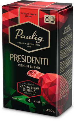 Presidentti Origin Blend Papua New Guinea, 450g - Kahvi - 6411300169108 - 1