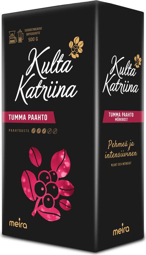 Kulta Katriina Tumma Paahto, 500g - Pick n Pay verkkokauppa