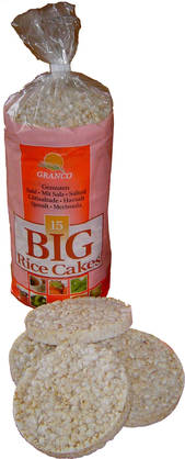 Granco Big Rice Cakes, 200g - Riisikakut - 5413544000019 - 1