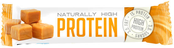 Fast Naturally High Protein, Toffee, 35g - Proteiinipatukat - 6420610745919 - 1