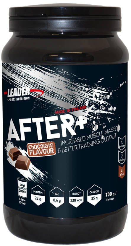 Leader After+, Suklaa, 700g - Palautuminen - 6430051512469 - 1